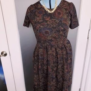 Lularoe Amelia Floral Dress